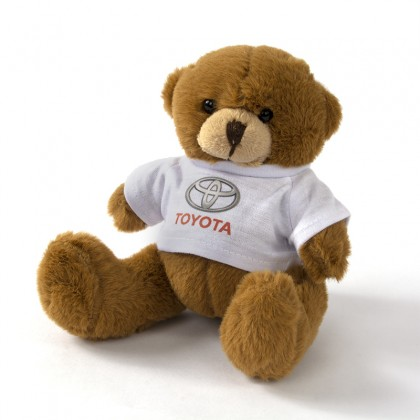 Teddybear with Toyota t-shirt