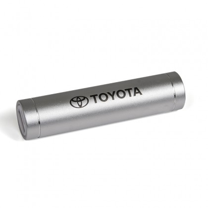 Power bank 2200 mAh, silver